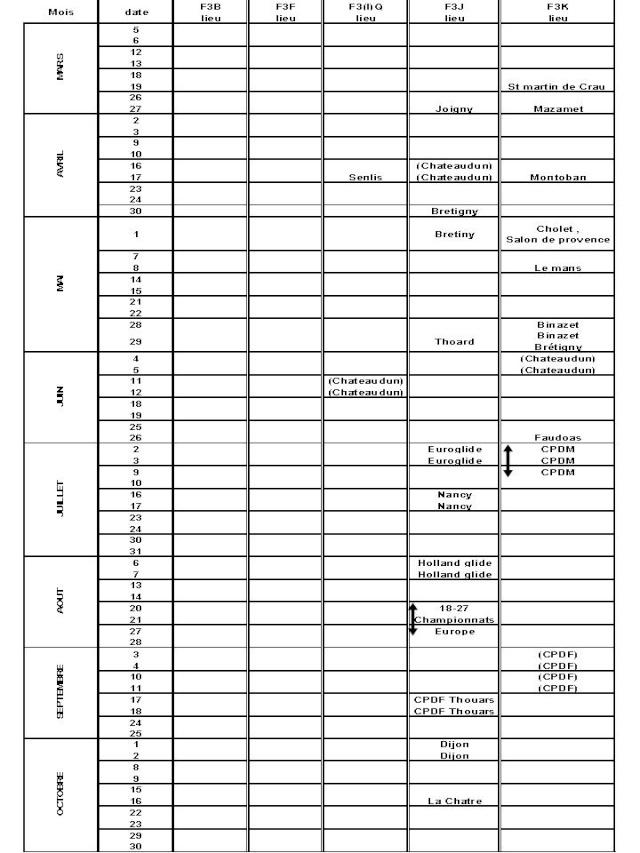 Synthèse calendrier compétition F3X Compet11